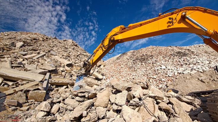 Rocks, Hills, Demolition, Circularity